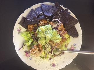 Healthy Immune Boosting Taco Salad